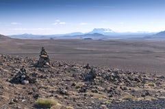 Volcanic landscape, Iceland Royalty Free Stock Photography