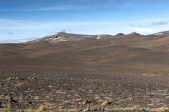 Volcanic landscape, Iceland Stock Images