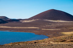 Volcanic landscape in Iceland. Volcanic landscape at the Snaefellsnes peninsula in Iceland Royalty Free Stock Images