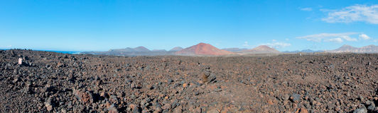 Free Volcanic Landscape In Lanzarote Royalty Free Stock Photo - 31217245