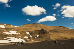 Volcanic landscape - interior of Iceland. Stock Image