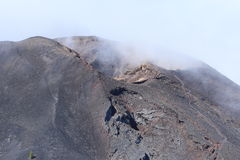 Volcanic landscape on La Palma, Canary Islands Stock Photography