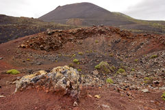 Volcanic landscape in La Palma. Canary Islands. Stock Image