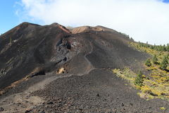 Volcanic landscape on La Palma, Canary Islands Royalty Free Stock Image