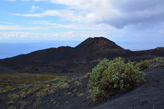 Volcanic Landscape in La Palma Island , the Canaries Stock Images