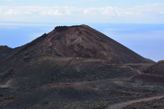 Volcanic Landscape in La Palma Island , the Canaries Royalty Free Stock Photos