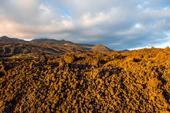 Volcanic landscape on La Palma island Royalty Free Stock Image