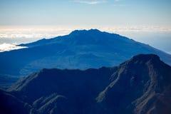 Volcanic landscape on La Palma island Stock Image