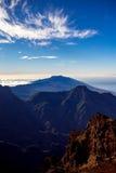 Volcanic landscape on La Palma island Stock Images