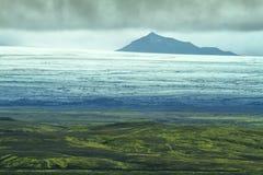 Volcanic landscape in Lakagigar Royalty Free Stock Photo