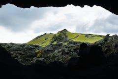 Volcanic landscape in Lakagigar Royalty Free Stock Images