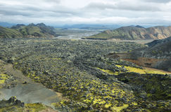 Volcanic landscape in Landmannalaugar, Stock Photos