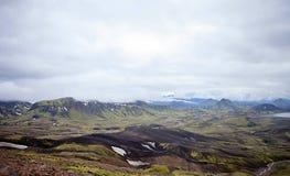 Volcanic Landscape - Landmannalaugar, Iceland Royalty Free Stock Photo