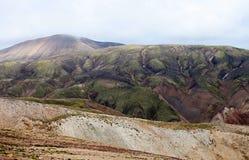 Volcanic Landscape - Landmannalaugar, Iceland Royalty Free Stock Images