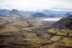 Volcanic Landscape - Landmannalaugar, Iceland Stock Photography