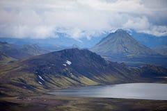 Volcanic Landscape - Landmannalaugar, Iceland Royalty Free Stock Photos