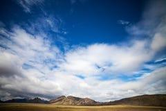 Volcanic Landscape - Landmannalaugar, Iceland Royalty Free Stock Photography