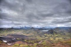 Volcanic Landscape - Landmannalaugar, Iceland Royalty Free Stock Image