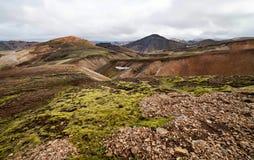 Volcanic Landscape - Landmannalaugar, Iceland Stock Photos