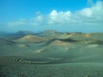 Volcanic Landscape Lanzarote royalty free stock photo