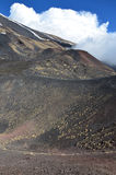 Volcanic landscape of the Mount Etna Royalty Free Stock Images