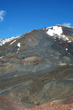 Volcanic landscape of the mount Etna Royalty Free Stock Photography