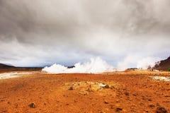 Volcanic landscape Namafjall, Iceland Stock Image