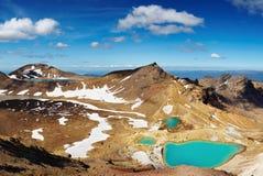 Volcanic landscape, New Zealand Royalty Free Stock Photography