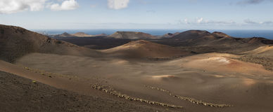 Volcanic landscape Stock Photos