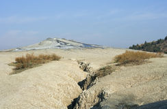 Volcanic landscape, raw stock images
