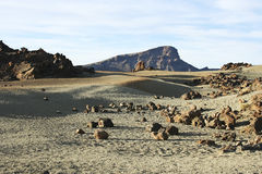 Volcanic landscape Stock Photography