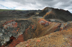 Volcanic landscape, Sierra Negra, Galapagos. Stock Image