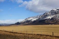 Volcanic landscape on the Snaefellsnes peninsula Royalty Free Stock Photo