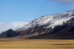 Volcanic landscape on the Snaefellsnes peninsula in Iceland Royalty Free Stock Photo