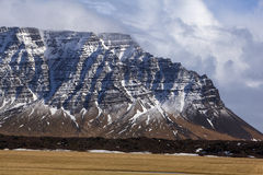 Volcanic landscape on the Snaefellsnes peninsula in Iceland Stock Images