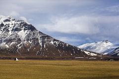 Volcanic landscape on the Snaefellsnes peninsula in Iceland Royalty Free Stock Photos