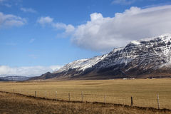 Volcanic landscape on the Snaefellsnes peninsula in Iceland Stock Photo