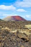 Volcanic landscape taken in Timanfaya National Park, Lanzarote, Stock Images