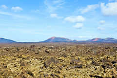 Volcanic landscape taken in Timanfaya National Park, Lanzarote, Stock Photos