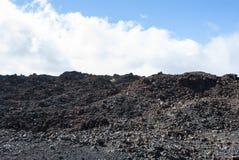 Volcanic Landscape. Teide Nationalpark - bright daylight - no people Royalty Free Stock Photography