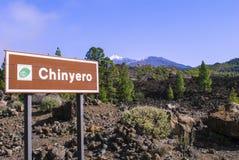 Volcanic Landscape. Teide Nationalpark - Chinyero - bright daylight - no people Stock Photos
