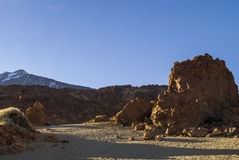 Volcanic Landscape (Teide - Tenerife) Royalty Free Stock Photo