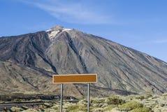 Volcanic Landscape (Teide - Tenerife) Stock Photography