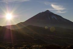 Volcanic Landscape (Teide - Tenerife) Stock Image