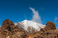Volcanic landscape, Teide, Tenerife Stock Images