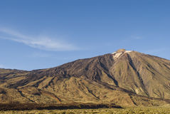 Volcanic Landscape (Tenerife, Canaries, Spain) Royalty Free Stock Images