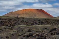 Volcano Lanzarote Spain royalty free stock photos
