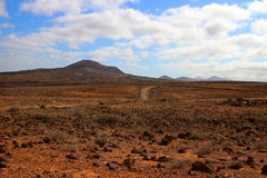 Volcanic Lanzarote landscape Stock Image