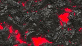 Volcanic Lava. Illustration of Volcanic Lava - Red and Black Stock Photography