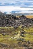 Volcanic lava Stock Photos